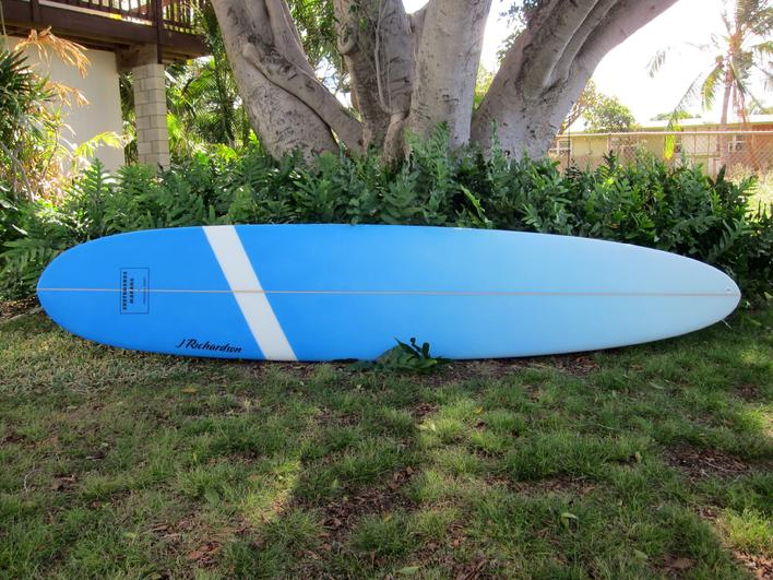 "In stock 9'0"" blue air"